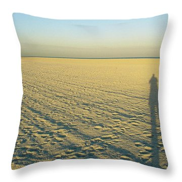 Throw Pillow featuring the photograph Desert Like by David Nicholls