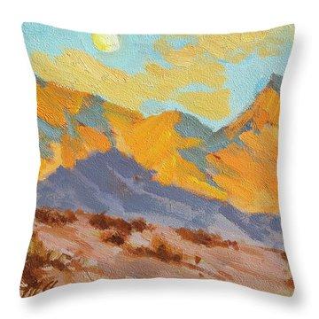Desert Morning La Quinta Cove Throw Pillow