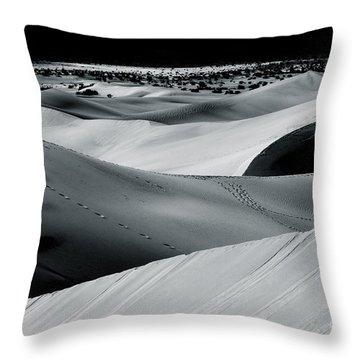 Desert Night Death Valley By Diana Sainz Throw Pillow