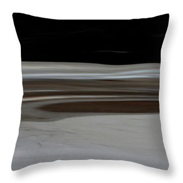 Desert Of Trust Two Throw Pillow