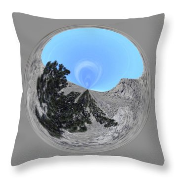 Desert Orb 2 Throw Pillow by Brent Dolliver