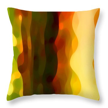 Desert Pattern 4 Throw Pillow by Amy Vangsgard