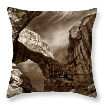 Desert Portal Throw Pillow