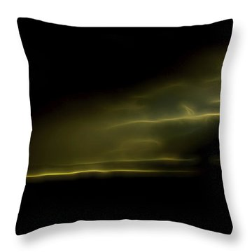 Throw Pillow featuring the digital art Desert Spotlight by William Horden