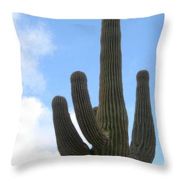 Desert Statesman Throw Pillow