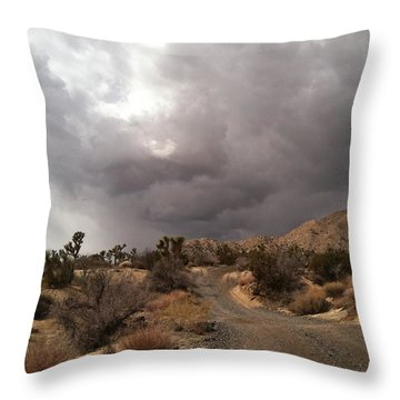 Desert Storm Come'n Throw Pillow