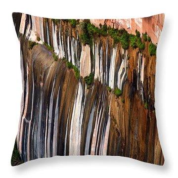 Desert Varnish Throw Pillow