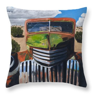 Vintage Chevrolet Truck Throw Pillows