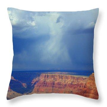 Desert View Grand Canyon Throw Pillow by Bob Christopher