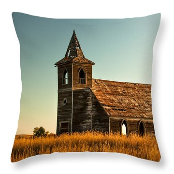 Deserted Devotion Throw Pillow