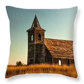 Deserted Devotion Throw Pillow