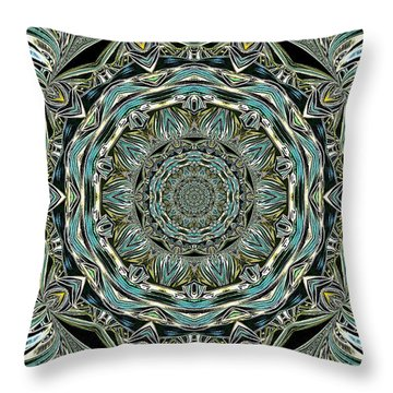 Throw Pillow featuring the photograph Design by Oksana Semenchenko
