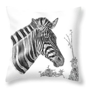 Designer Stripes Throw Pillow