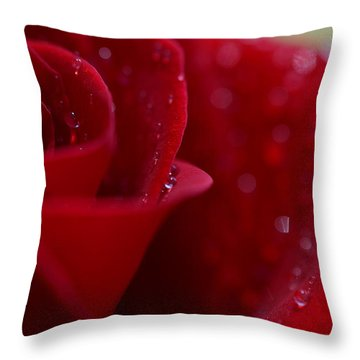 Desire Throw Pillow by Melanie Moraga