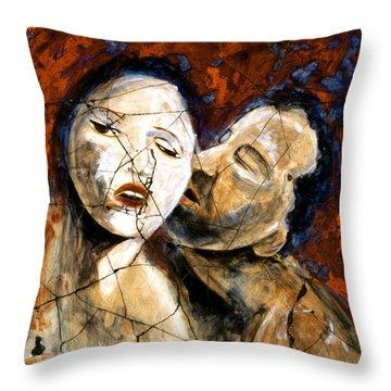 Desire - Study No. 2 Throw Pillow by Steve Bogdanoff
