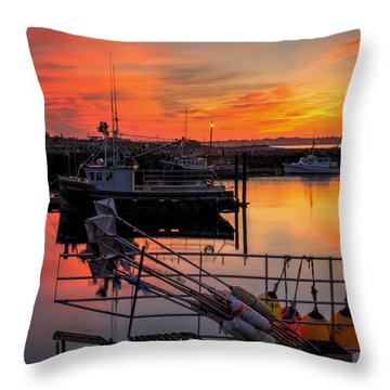 Desired Haven  Throw Pillow