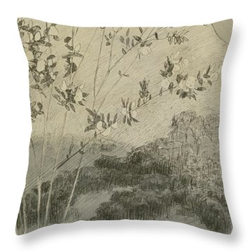 Desires Throw Pillow by Max Klinger