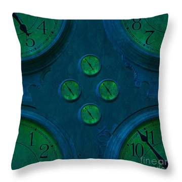 Desitions #1 Throw Pillow by Claudia Ellis
