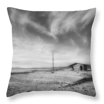 Desolation Throw Pillow by Hugh Smith