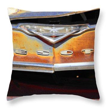 Desoto 2 Throw Pillow by Mike McGlothlen