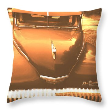 Throw Pillow featuring the digital art Desoto by Cathy Anderson