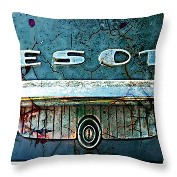 Desoto De-rust Throw Pillow by Greg Sharpe