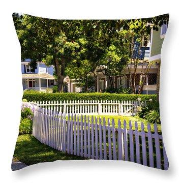 Desperate Neighborhood Throw Pillow