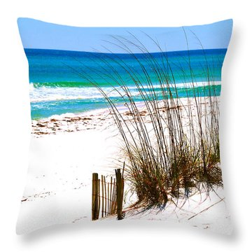 Destin, Florida Throw Pillow
