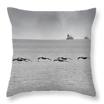 Destination Throw Pillow by Betsy Knapp