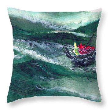 Destiny Throw Pillow by Anil Nene
