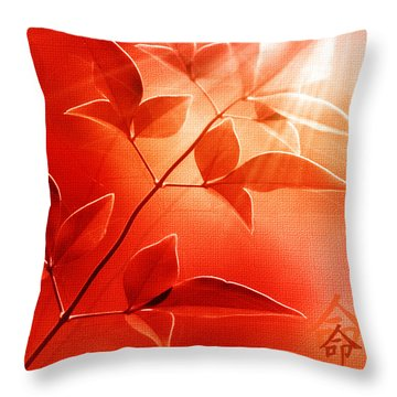 Destiny Throw Pillow by Holly Kempe