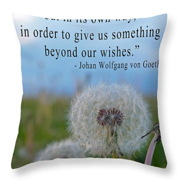 Destiny Wish Makers Throw Pillow