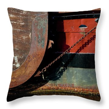 Details Of A Dutch Boat, Holland Throw Pillow