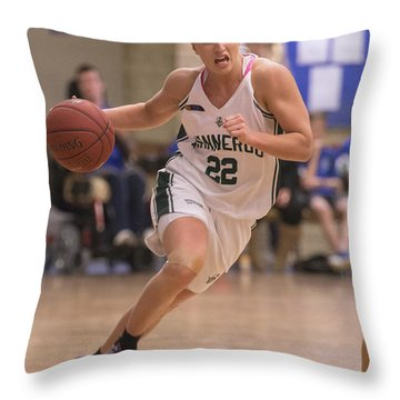 Determined Throw Pillow by Serene Maisey
