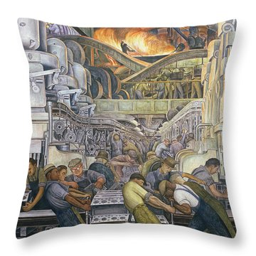Industry Throw Pillows