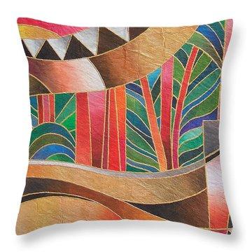 Deuba Sunset Throw Pillow
