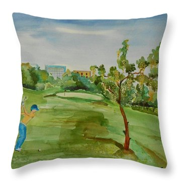 Developing Country     Throw Pillow