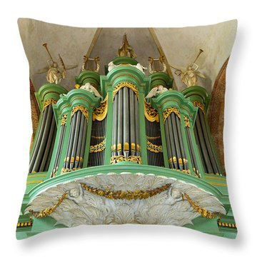 Deventer Organ Throw Pillow