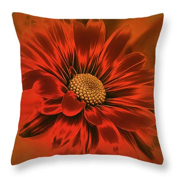 Devil May Care Throw Pillow