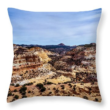 Devil's Canyon Throw Pillow