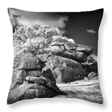 Devils Den - Gettysburg Throw Pillow