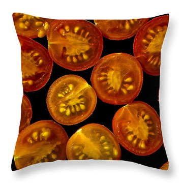 Devined Throw Pillow by Sandi Mikuse