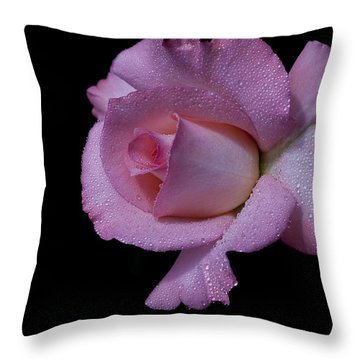 Throw Pillow featuring the photograph Dewy by Doug Norkum