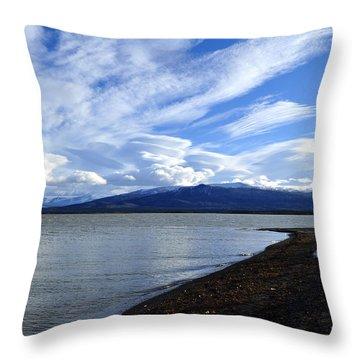 Dezadeash Lake Throw Pillow