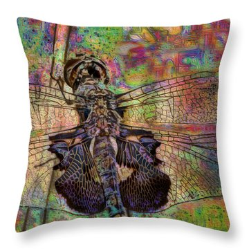 Dfly Throw Pillow