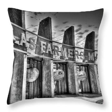 DFM Throw Pillow by Mark Alder