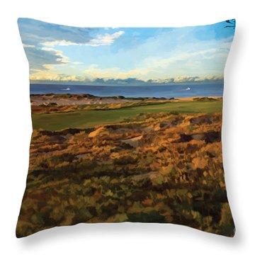 Diamante Cabo 15th Throw Pillow
