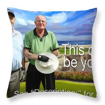 Diamante Cabo 16th Throw Pillow