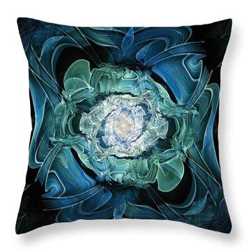 Diamond Nest Throw Pillow by Anastasiya Malakhova