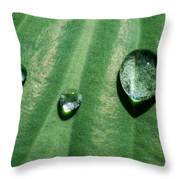 Diamonds Are Forever - Featured 3 Throw Pillow by Alexander Senin